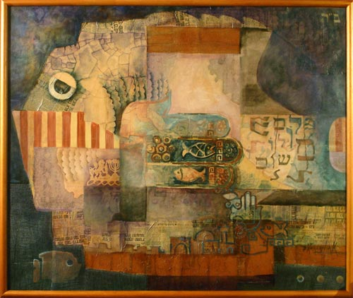 The Jewish Contemporary Art Of Bernard Korzeniak In Florida